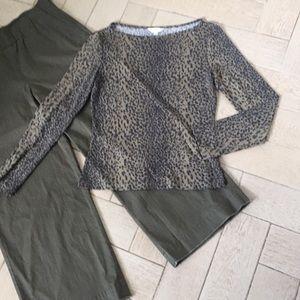 Leopard print fashion top❤️🎁💖❤️